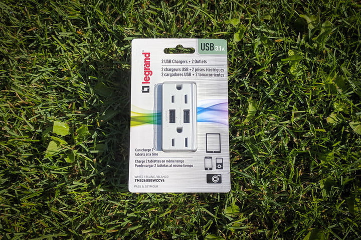 how to install a usb outlet radiant front