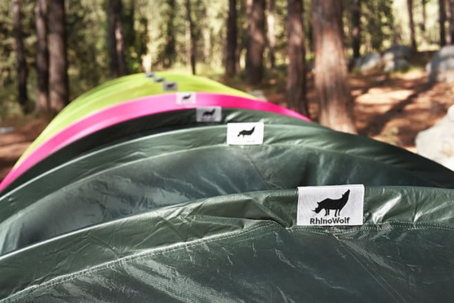 RhinoWolf Modular Attachable Super Tent tag & Human tentipede: Rhinowolfu0027s modular tents link up to keep ...