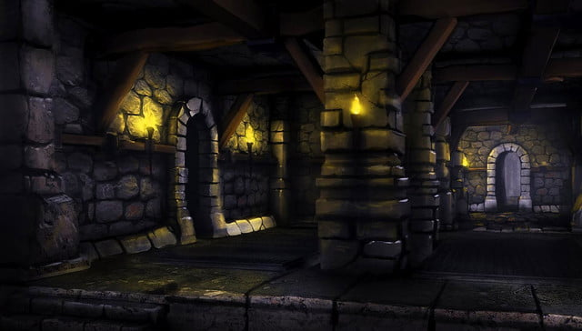rise of the triad 2013 concept art dungeon