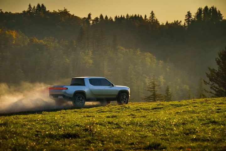 rivian rj scaringe interview r1t field