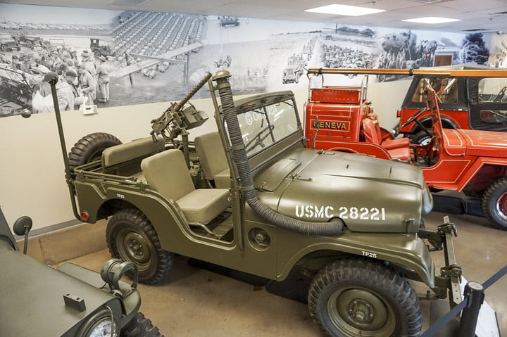 Another jeep from the 1940s at the Omix-ADA