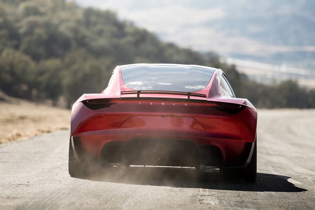 tesla roadster pictures rear profile 2