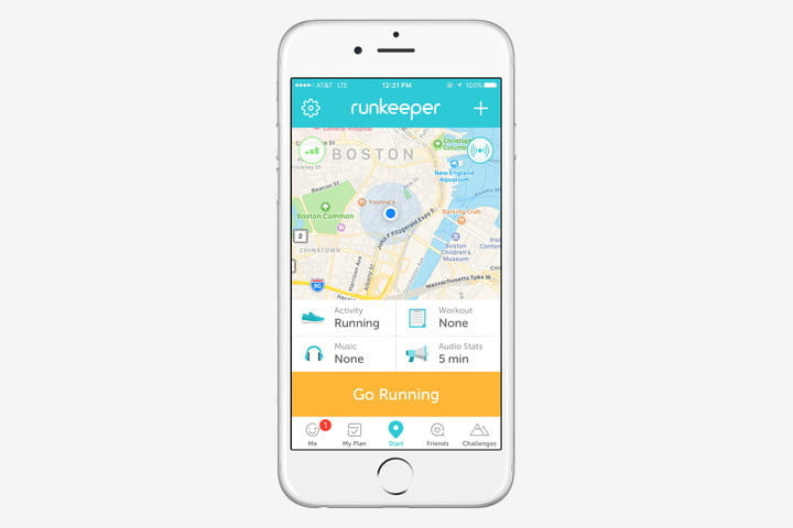 best health and fitness apps for iphone runkeeper