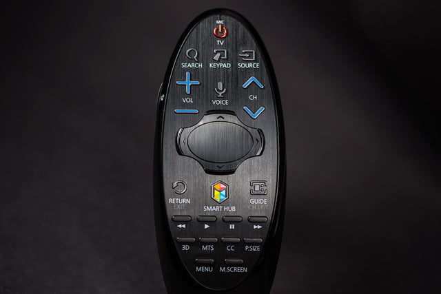 Samsung 7150 HDTV review remote