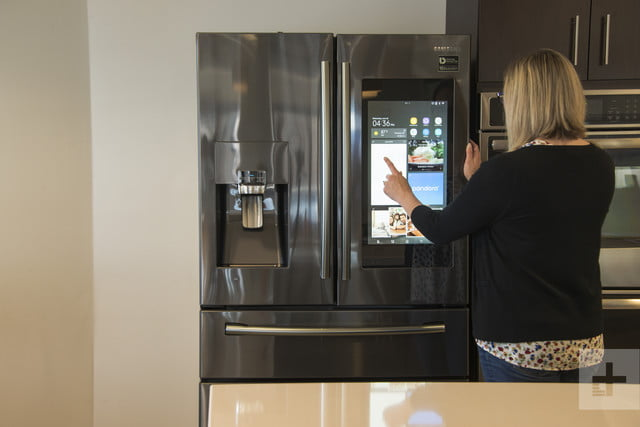 Samsung Family Hub Refrigerator Review Brains With A Cool Factor