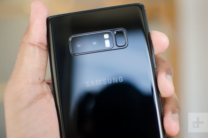 Samsung Galaxy Note 8 review back top 2
