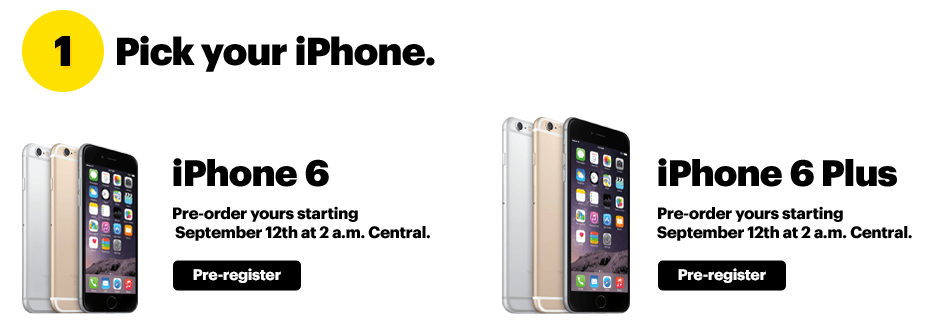 sprint iphone pre order how to pre order iphone 6 and iphone 6 plus on any carrier 1726