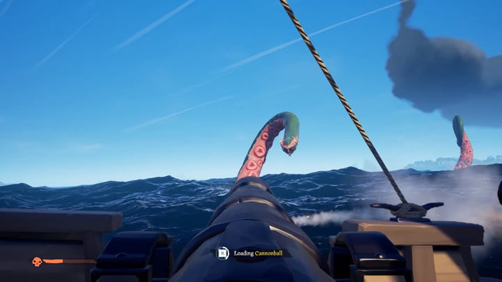 Sea of ​​thieves how to defeat the Kraken Fire Cannons