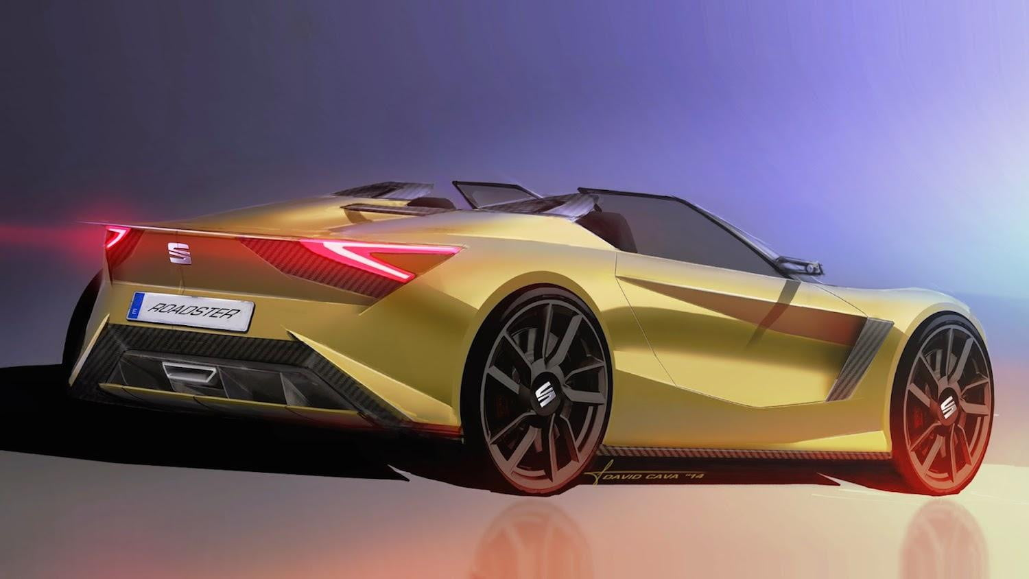 Seat Roadster David Cava8CSP