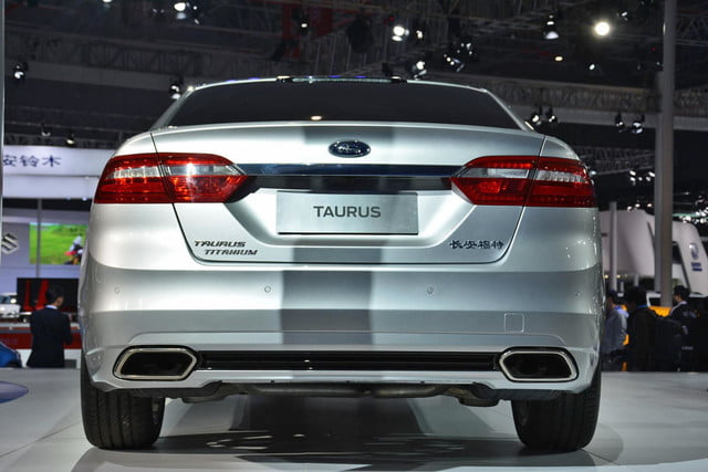 next ford taurus official pictures specs and performance shanghai 6