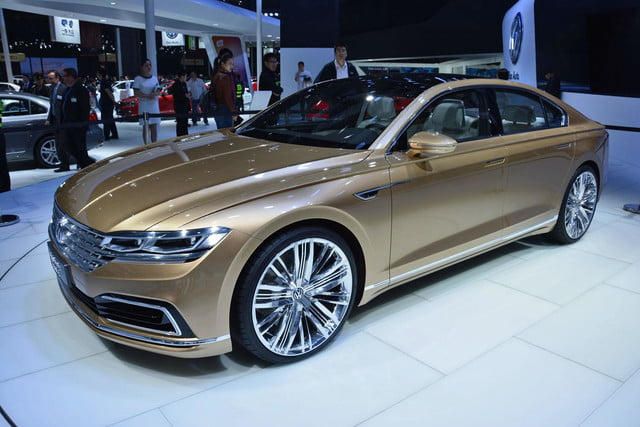 volkswagen c coupe gte concept official pictures and specs shanghai 6