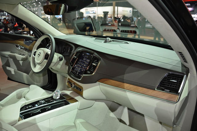 volvo lounge console concept pictures shanghai xc90 excellence 6