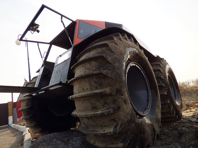 russian sherp atv self inflating tires 0009