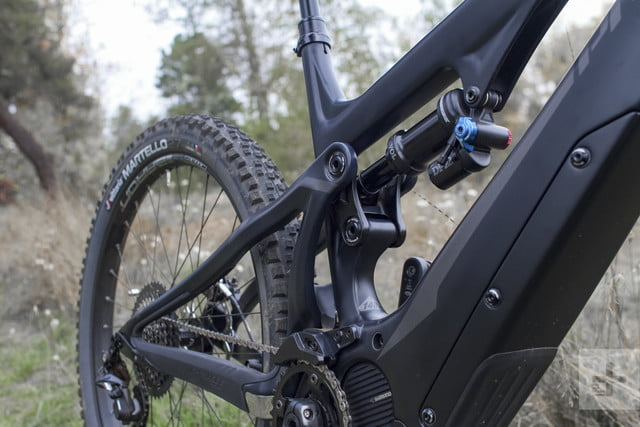 Shimano electric mountain bike components impressions
