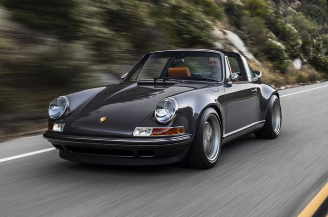 Singer 911 gray front angle