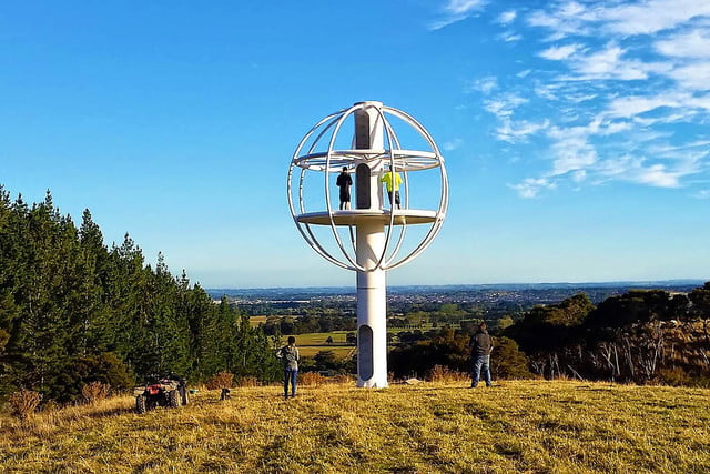 skysphere is a voice controlled man cave 33 feet in the air 6