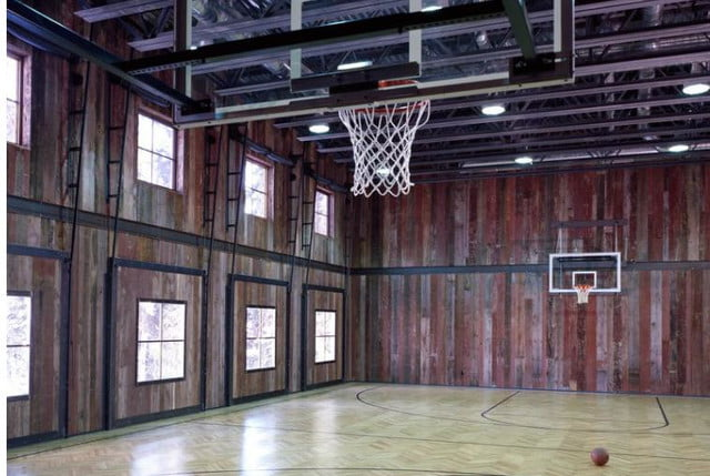 The Coolest Homes With Indoor Basketball Courts Digital Trends