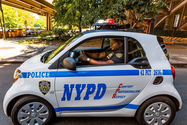 NYPD Smart Fortwo