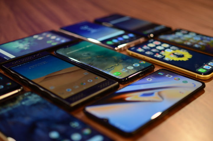 all phones released and annouced in october smartphones