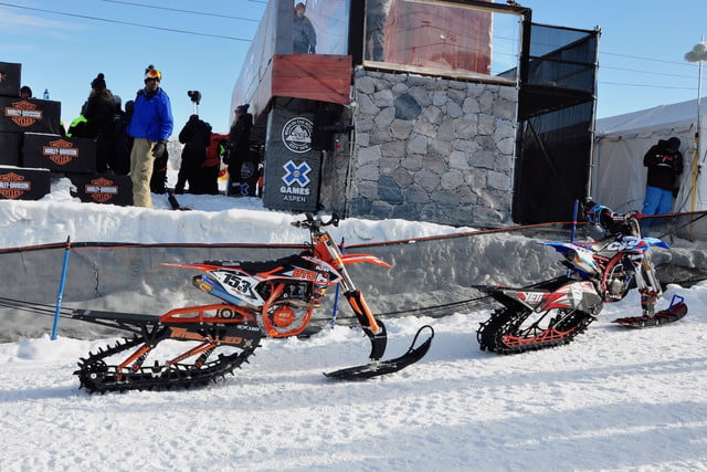 snow bike winter xgames snowbike 6