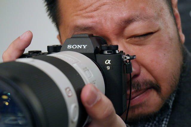 sony a9 full frame camera announced hands on 3