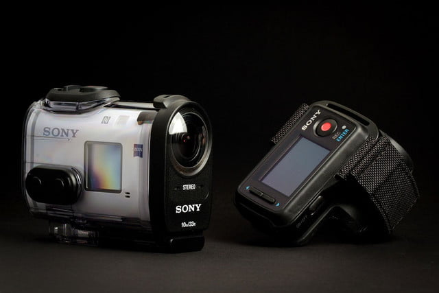 Sony Action Cam 4K case and band