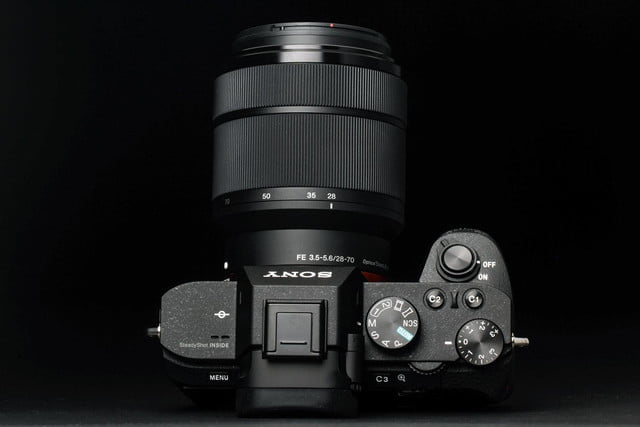Sony Alpha A7 Mark II review top controls