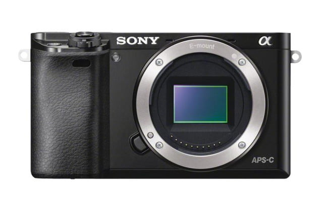 Sony AlphaILCE6000 Front