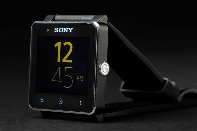 Sony SmartWatch 2 front right side