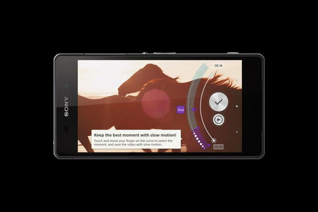 Sony Xperia Z2 front landscape