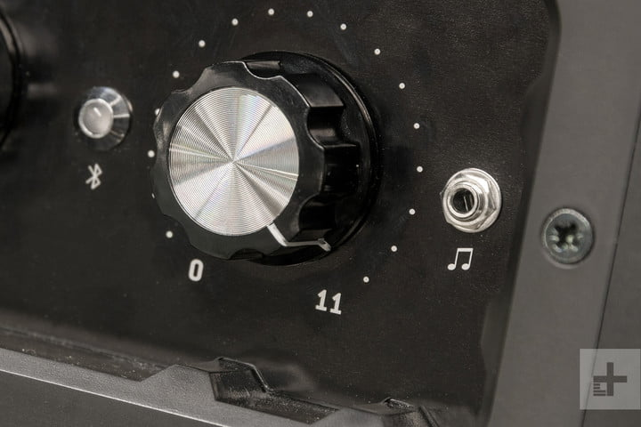 soundboks 2 speaker knob close