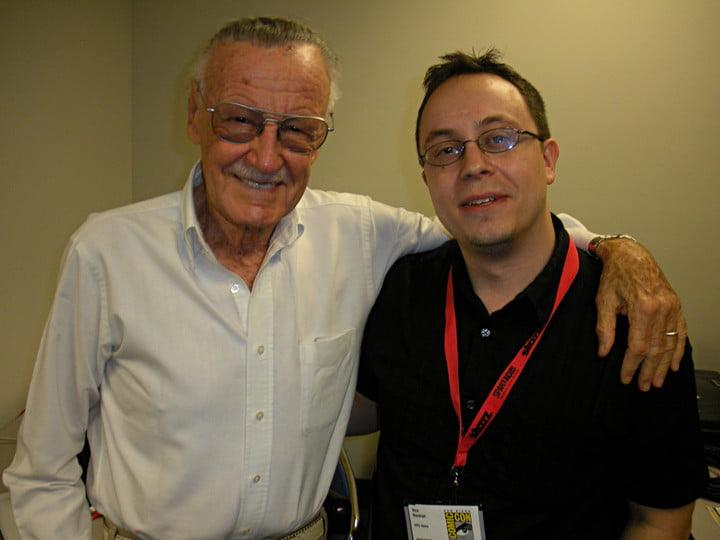 stan lee obituary and me