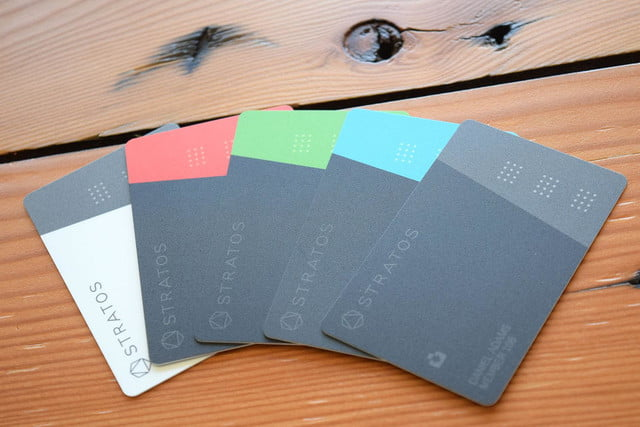 stratos smart credit card review array
