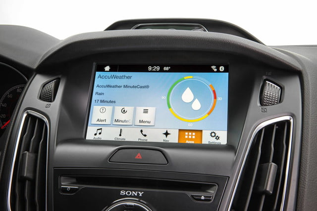 Ford Sync AppLink AccuWeather MinuteCast