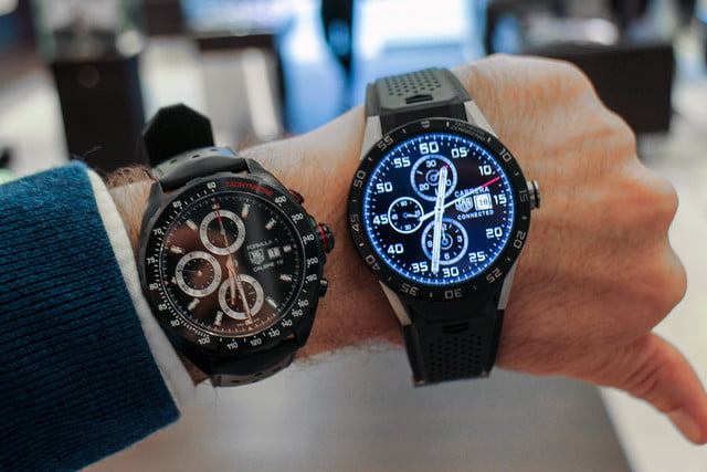 tag heuer carrera connected hands on review 1