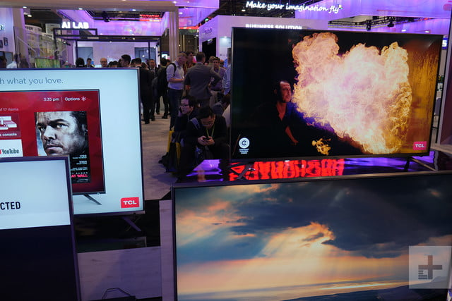 tcl 6 series 4k hdr led tv first look sleeper hit of 2018 ces2018
