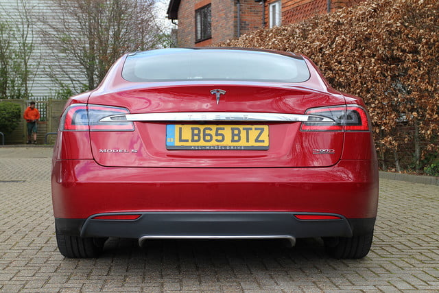 abnormally normal driving the tesla model s p90d 1398