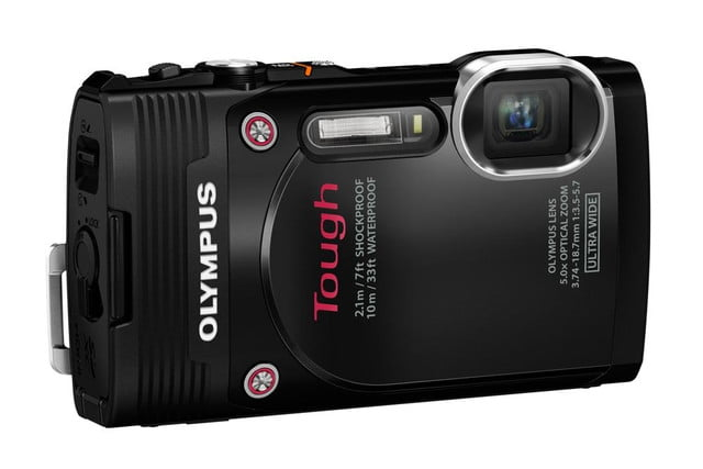 olympus debuts new stylus tg 850 tough camera blk left
