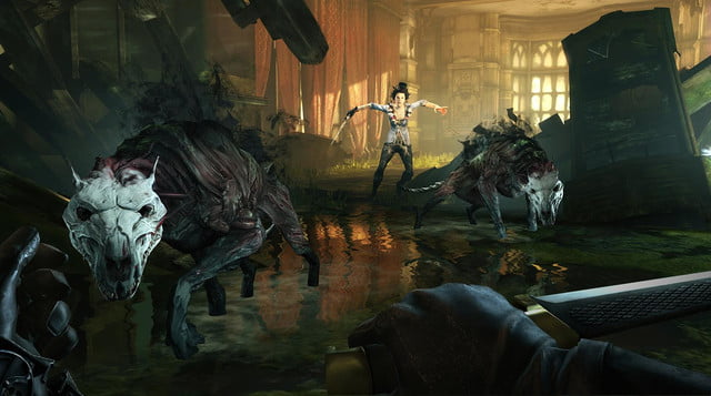 dishonored the brigmore witches dlc gravehounds