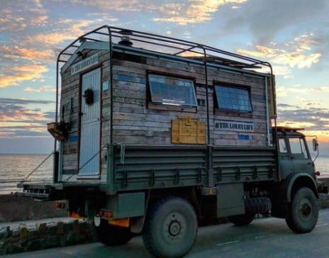 lorry life tiny home the 001