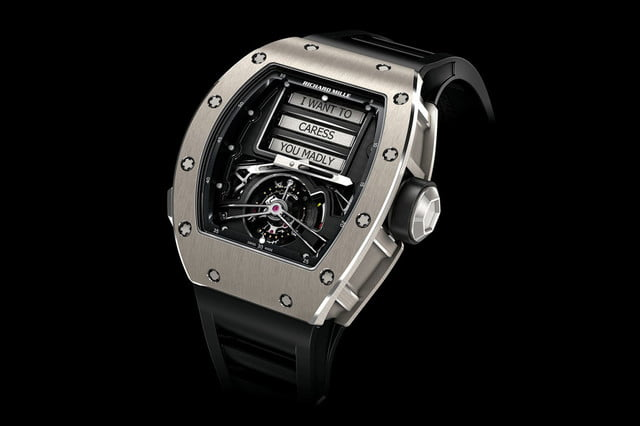 flipping through the manual water to go erotic watches tasting dead ant gin wind  richard mille rm69 tourbillon