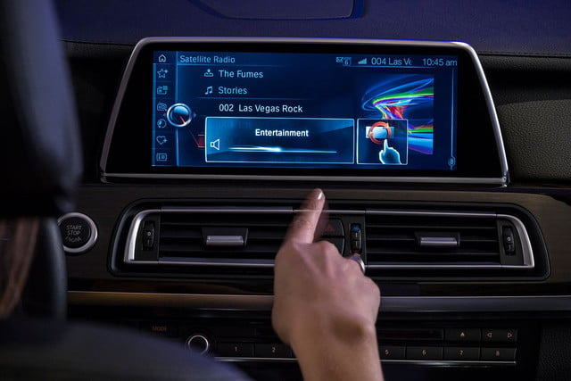 new bmw idrive features touchscreen and gesture recognition the next generation of 6