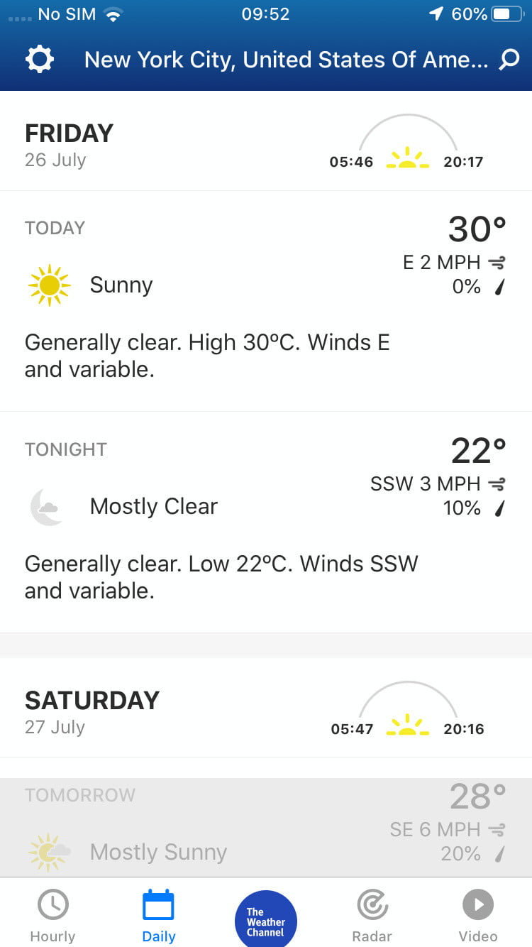 The Best Weather Apps for the iPhone, iPad, and iPod Touch | Digital
