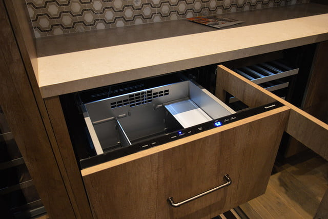 luxury home items from kbis 2016 thermador freedom collection double drawer refrigerator