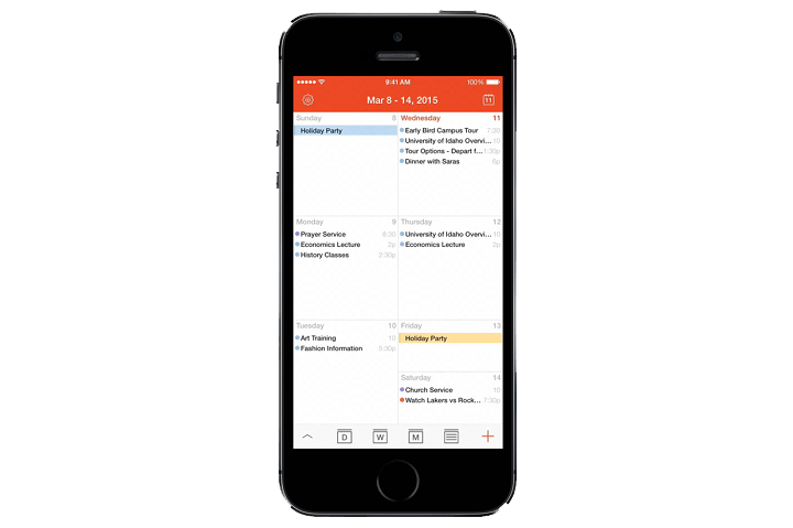 how to connect digi cal on android to iphone calendar