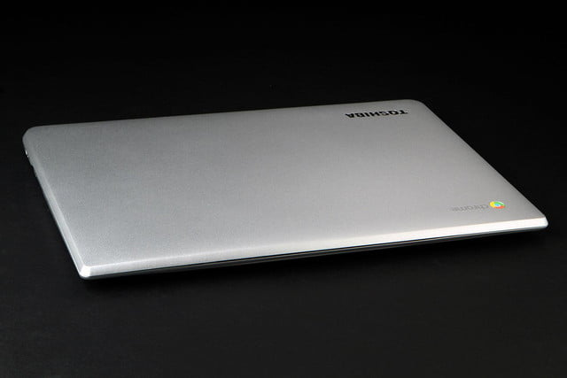 Toshiba Chromebook 2 front top angle