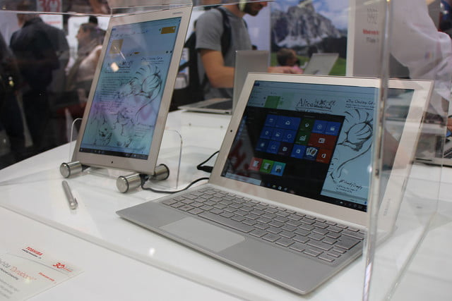 the new laptops of ifa 2015 toshiba dynabook  4