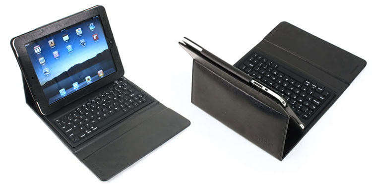review typad ipad case with qwerty keyboard digital trends. Black Bedroom Furniture Sets. Home Design Ideas