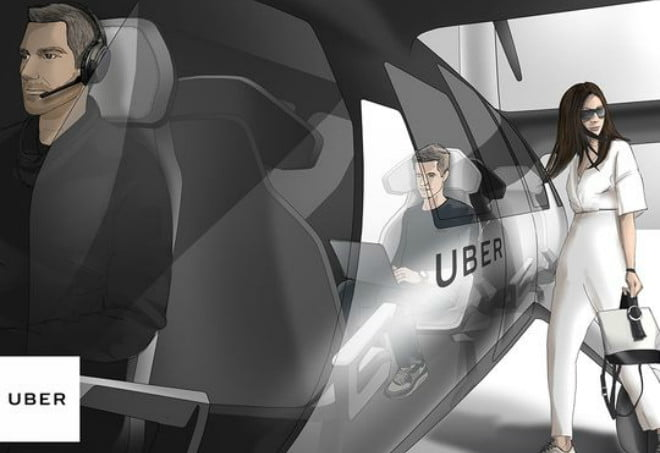 uber elevate flying cars uberair sketch