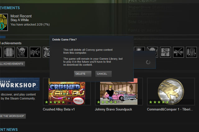 how to run steam games from hard drive